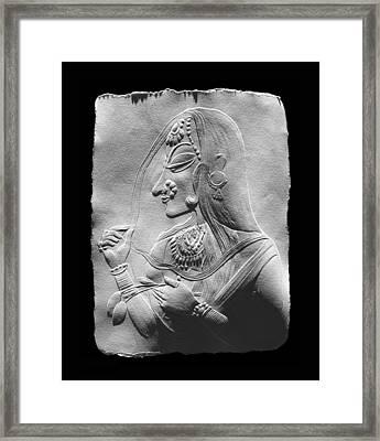Radha  Framed Print by Suhas Tavkar