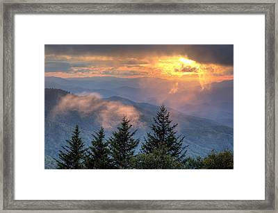 Radiance Framed Print by Doug McPherson