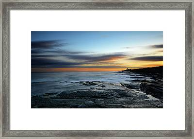 Radiance Of Its Light Framed Print by Lourry Legarde