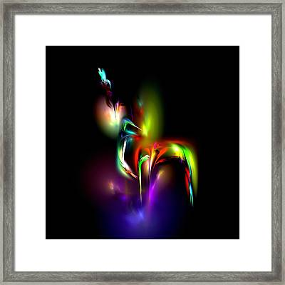 Radiance Framed Print by Pete Trenholm