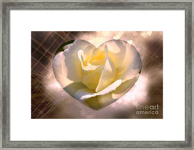 Radiant Love Framed Print