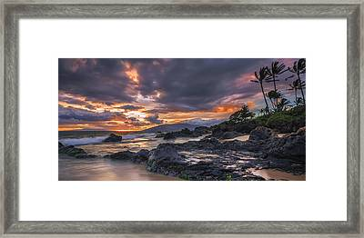 Framed Print featuring the photograph Radiant Maui by Hawaii  Fine Art Photography