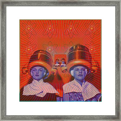 Framed Print featuring the digital art Radiant by Sasha Keen