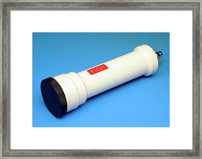 Radiation Contamination Monitor Probe Framed Print by Public Health England