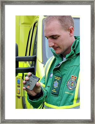 Radiation Emergency Response Monitoring Framed Print by Public Health England