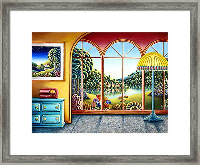 Radio Days 9 Framed Print by Andy Russell