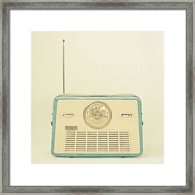 Radio Days Framed Print by Cassia Beck