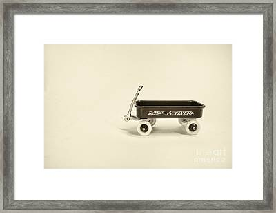 Radio Flyer 2 Framed Print by Jack Paolini