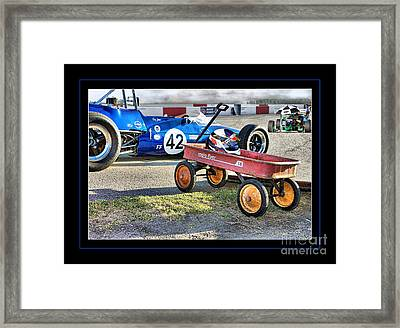 Radio Flyer Framed Print by Tom Griffithe