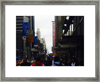 Framed Print featuring the photograph Radio by Justin Lee Williams