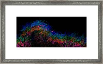 Radio Waves Framed Print by Christopher Gaston
