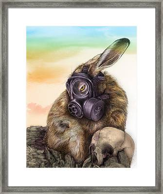 Radioactive - Color Framed Print by Penny Collins