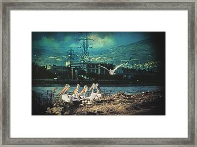 Radioactive Days Framed Print by Taylan Apukovska