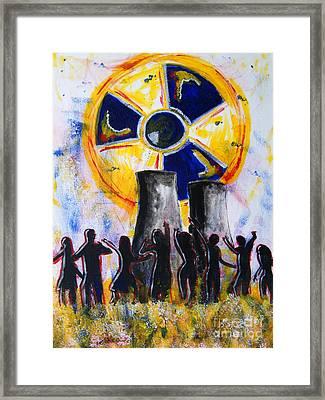 Radioactive - New Generation Framed Print by Michael Rados