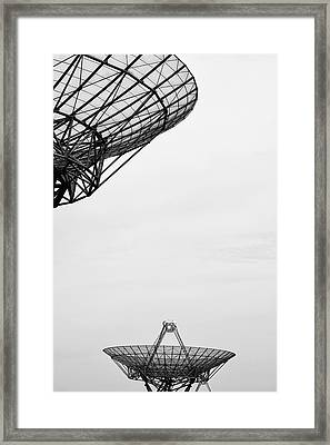 Radiotelescope Antennas.  Framed Print