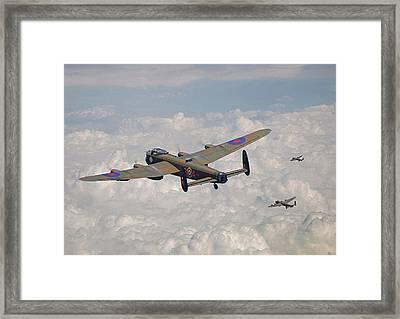 Raf Lancaster - Conclusion Framed Print