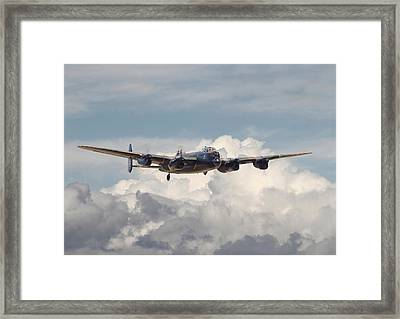 Raf Lancaster Framed Print