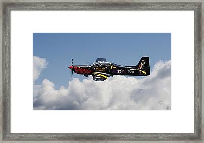 R A F Tucano - Trainer Aircraft Framed Print by Pat Speirs