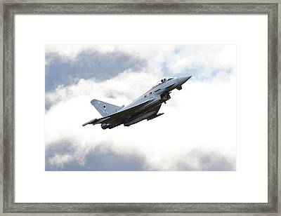 Raf Typhoon - 'ad Astra' Framed Print by Pat Speirs
