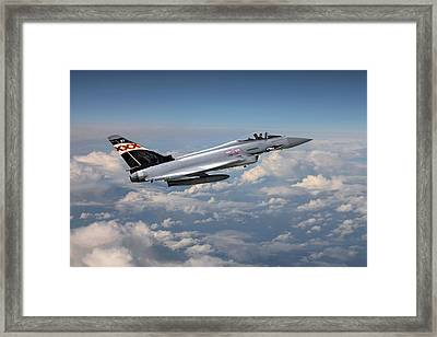 Raf Typhoon - Eurofighter Framed Print by Pat Speirs
