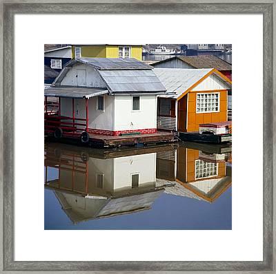 Raft Framed Print