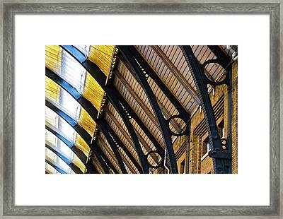Rafters At London Kings Cross Framed Print