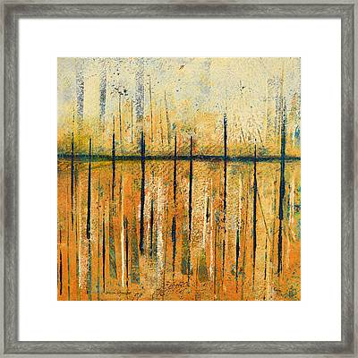 Rafters Framed Print by Moon Stumpp