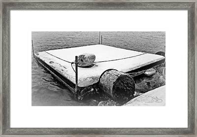 Raftinwinter Framed Print