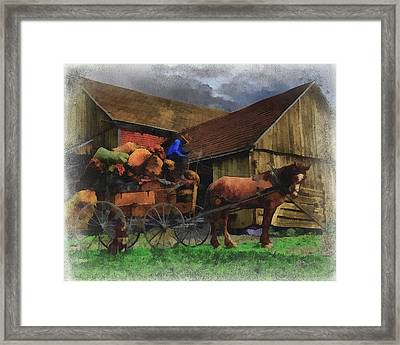 Rag Man Framed Print by William Sargent