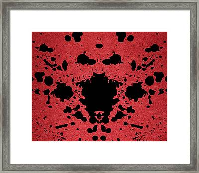 Rage Framed Print by Dan Sproul
