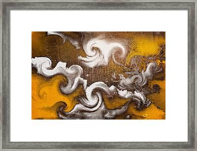 Rage Framed Print by Davina Washington
