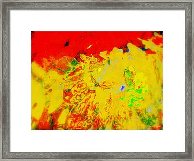Rage Framed Print by Deborah  Crew-Johnson