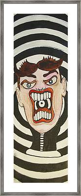 Rage Tillie Framed Print by Patricia Arroyo