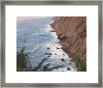 Ragged Point California Framed Print