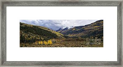 Raggeds Wilderness Autumn - D003219 Framed Print