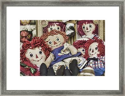Raggedy Ann And Andy Framed Print