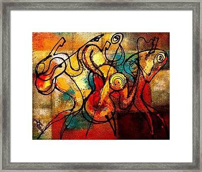 Ragtime Framed Print