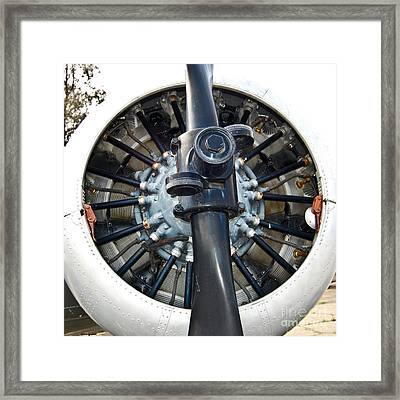 Raidal Engines Are Cool Framed Print