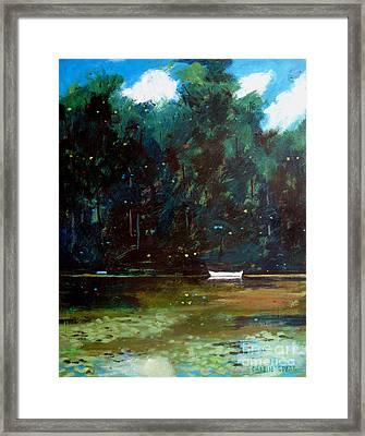 Raiders Cove Framed Print by Charlie Spear