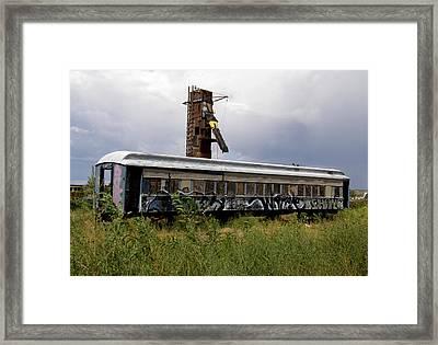 #ishalltakethisunboundtrainaway Framed Print