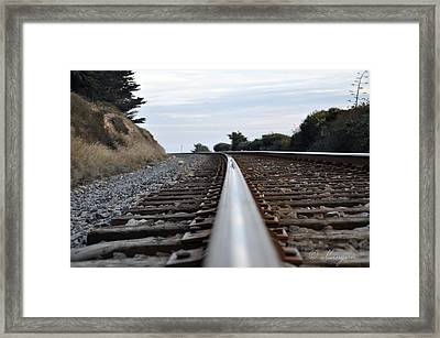 Rail Rode Framed Print by Gandz Photography