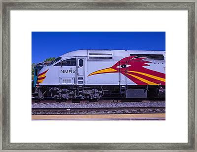 Rail Runner Train Framed Print by Garry Gay