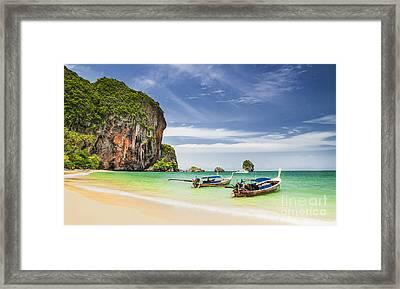 Railay Beach Framed Print