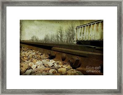 Railroad Bolts Framed Print