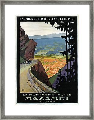 Railroad Poster, C1920 Framed Print by Granger