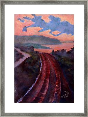 Railroad Framed Print