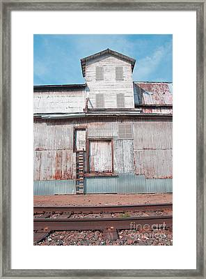 Railroad To The Past Framed Print