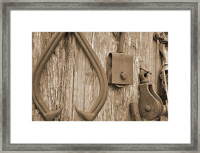 Railroad Tools  Framed Print