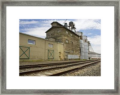 Railway Mill Framed Print
