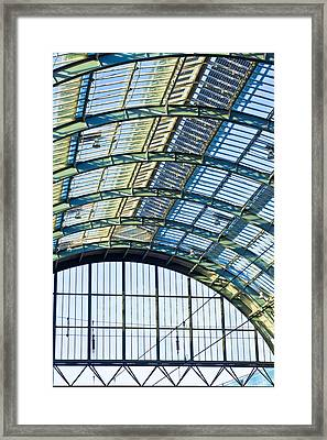 Railway Station Roof Framed Print